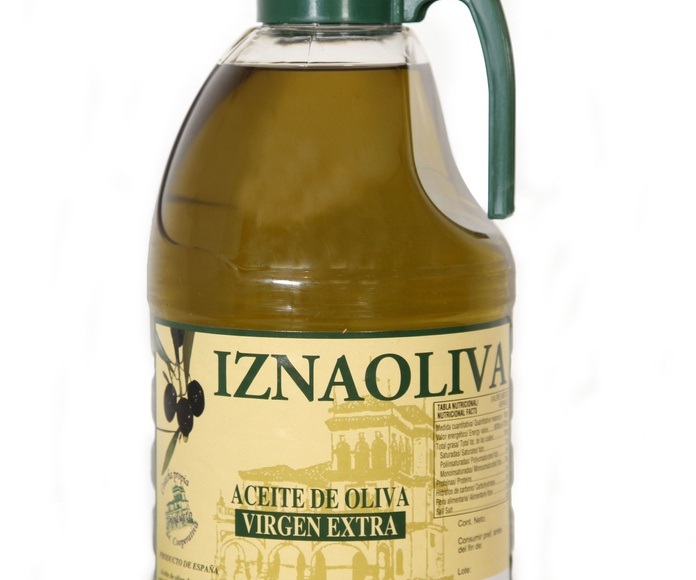 Aceite de Oliva Virgen Extra Pet 2 Litros  Marca IZNAOLIVA