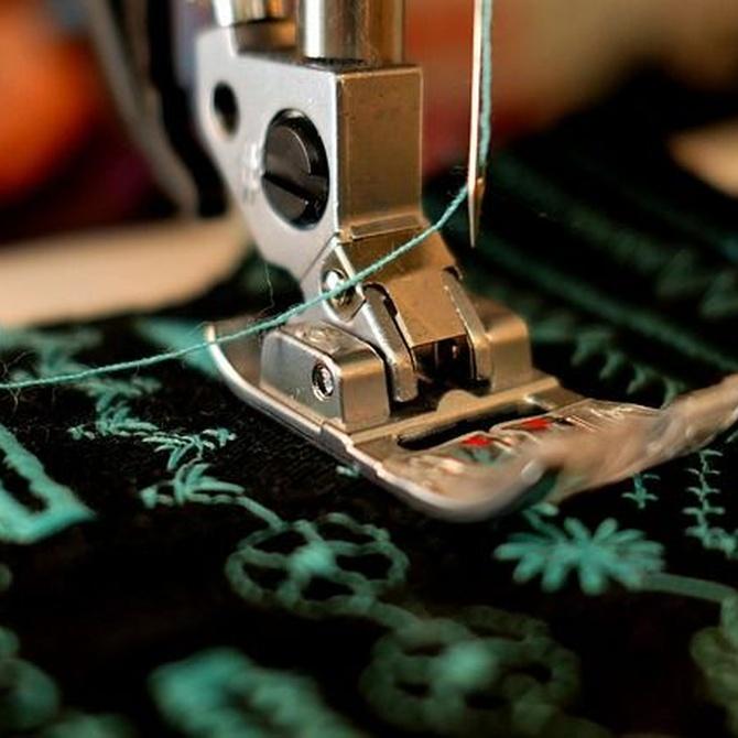 Las crisis económicas  y las máquinas de coser