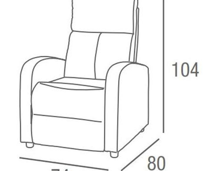 Sillón ROBIN: Productos de Crea Mueble