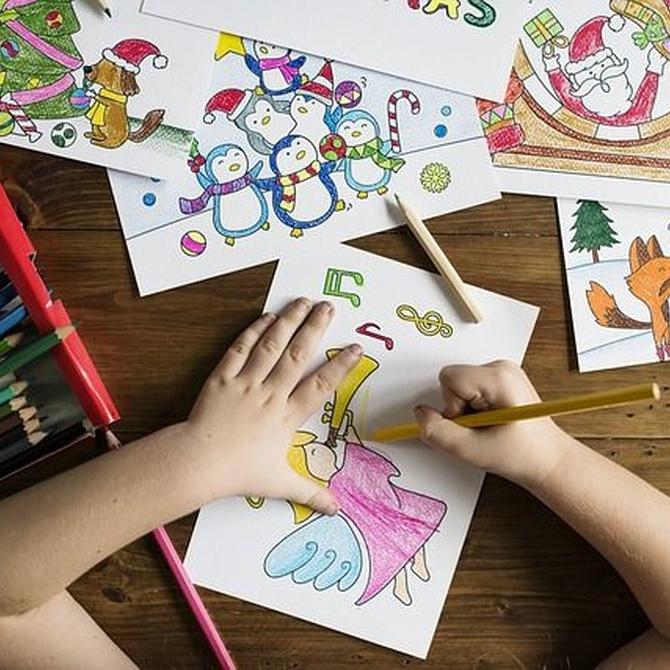 La imaginación de los niños en un vinilo
