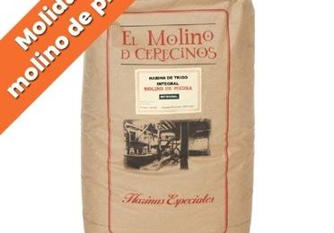 "Harina de trigo integral ""Molino de piedra"" T-80 25 kg"
