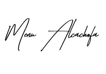 Menú Alcachofa