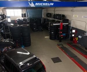 Taller especializado en neumáticos en Valdemoro