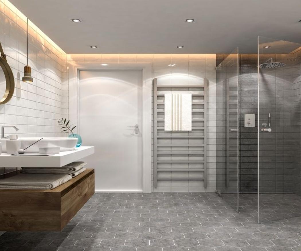 Convierte tu baño pequeño en uno mucho más grande