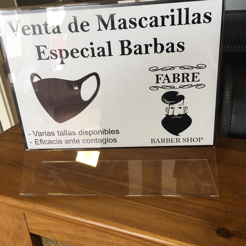 MASCARILLAS ESPECIALES PARA BARBA: Servicios y productos de Fabre Barber Shop