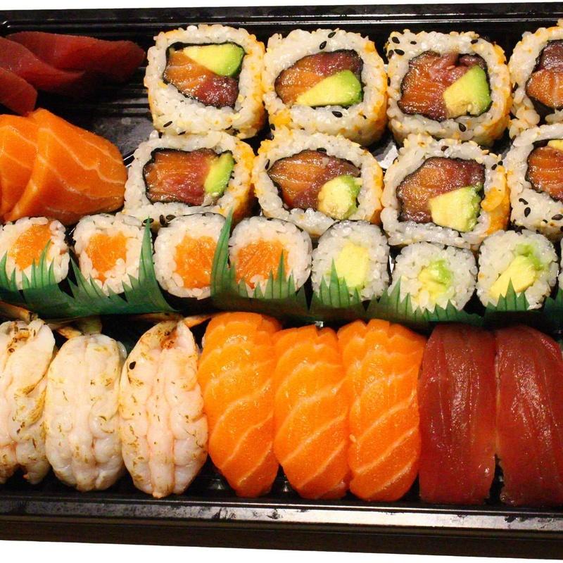 Menú 5 (31p) (3 personas) 34.50€: Carta de Tairyo Restaurant Japanese