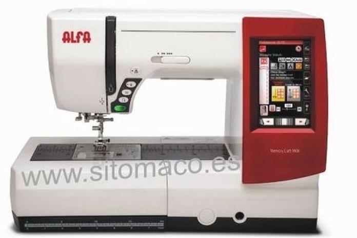 ALFA MC9900 maquina de coser y bordar: Catálogo de Sitomaco