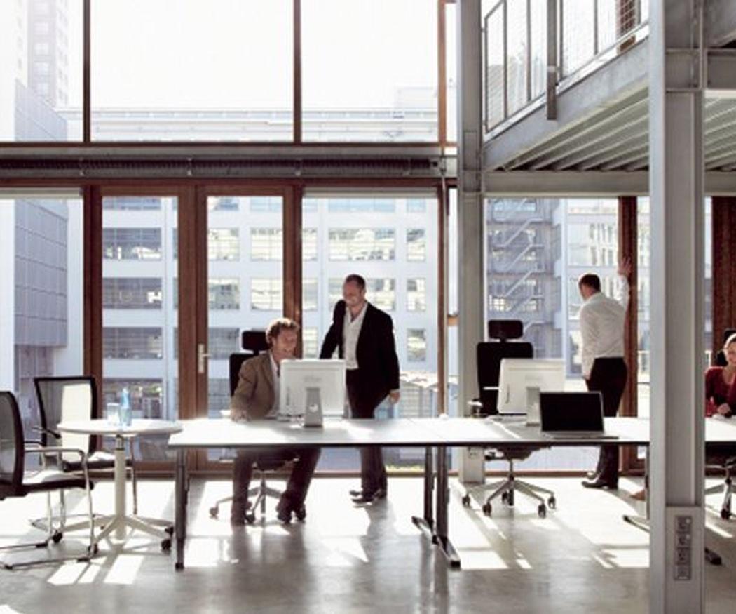 Las ventajas de dividir la oficina