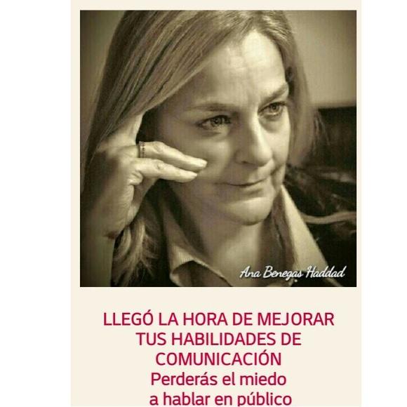 COMO HABLAR EN PÚBLICO - CONVOCATORIA 25 DE ENERO 11h: TRATAMIENTOS.Cursos servicios. de Ana Benegas Haddad - PSICÓLOGA
