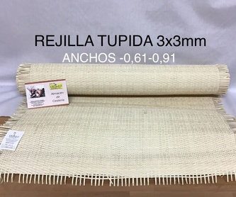 Rejilla clásica agujero 15x15 mm: Productos y materias primas de Estilo 2 Bambú, S.L.