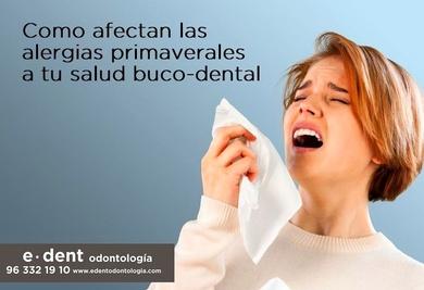 Alergias la salud buco-dental