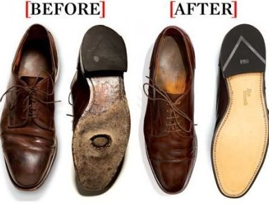 Restauración de zapatos Allen Edmonds