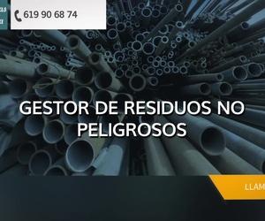Reciclaje de chatarra en Vizcaya | Chatarras Matiena