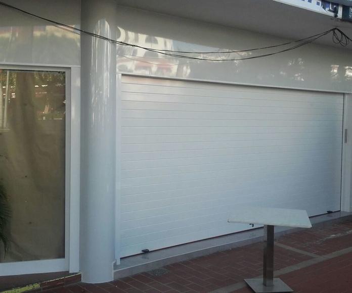 Persianas : Carpintería  Aluminio Tenerife de Namiju Aluminios