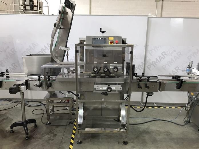 Taponadora automática: Catálogo de Maquinaria de Pymar
