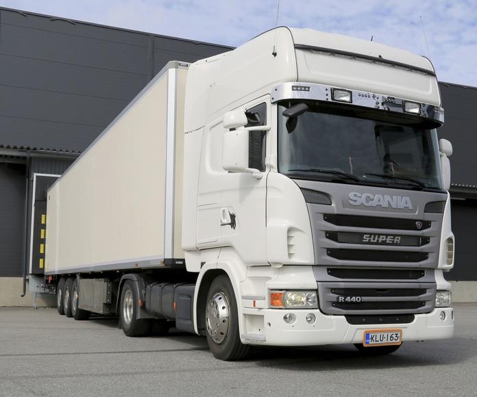 Transporte de mercancía: Servicios de Discotrans