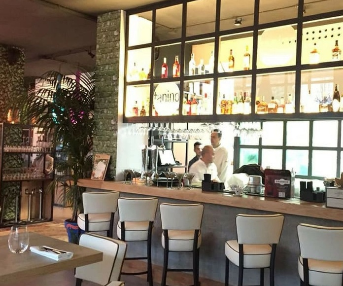 Mantelería a medida Restaurante Taninos San Pedro de Alcántara