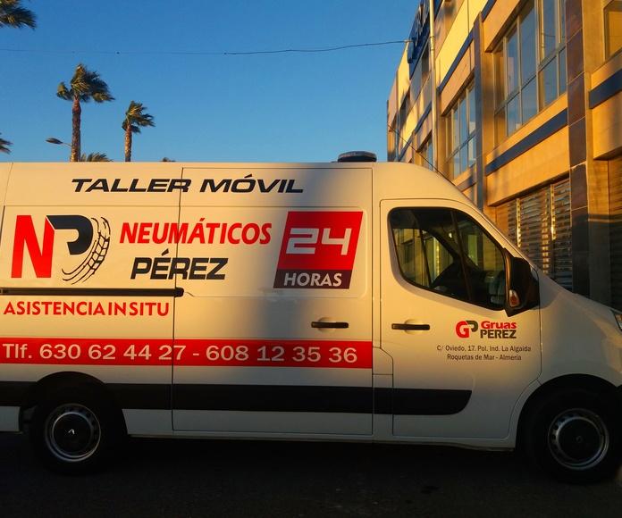 ServiciovTaller 24 horas : Servicios de Neumáticos Pérez