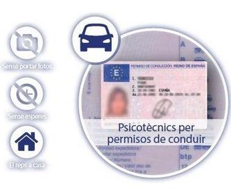 Permisos de Marina: Servicios de CENTRE DE RECONEIXEMENT DEL CONDUCTOR DE VILA-SECA