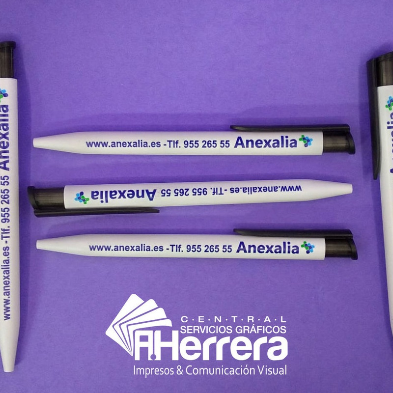 Personaliza Bolígrafo de merchandising con tu logotipo