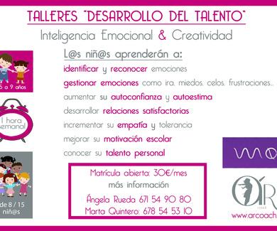 """Talleres """"desarrollo del talento"""""""