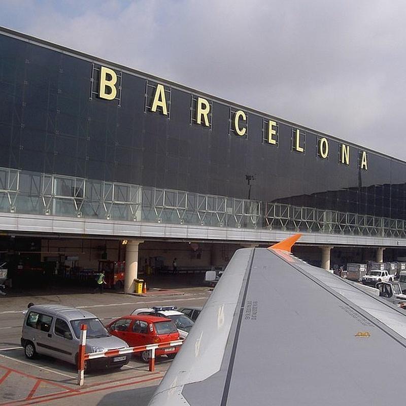 Traslado en taxi al aeropuerto de Barcelona: Servicios de Taxis Bages