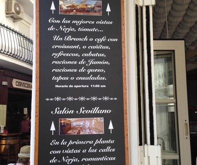 Tapear en La Tasquita del Sevillano con las mejores vistas, ahora es posible.