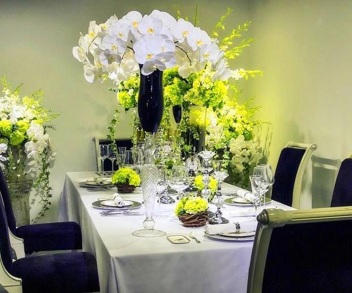 Arreglos florales para eventos: Catálogo de Rossán Arte Floral