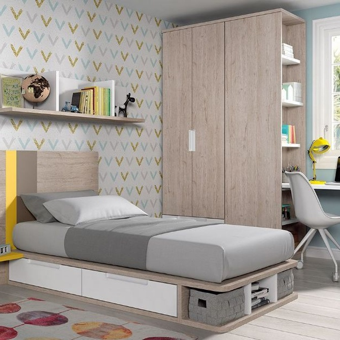 Dormitorios juveniles y las nuevas tecnologías