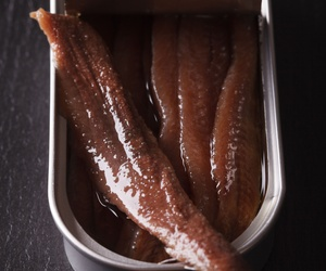 Conversas de anchoas en salazón en Santoña