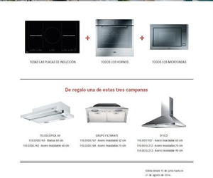 Promotion appliances Franke