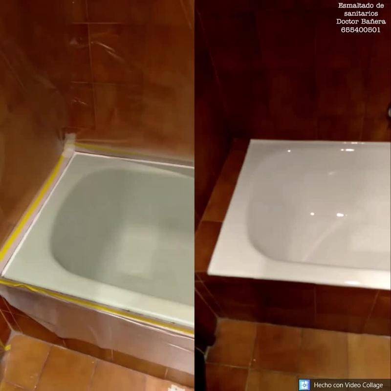 videos de esmaltado completo de cocinas.. Muebles, azulejos, encimeras: Servicios de DOCTOR BAÑERA RESTAURACIONES FIVE STARS