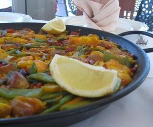 Paella de magro y verduras