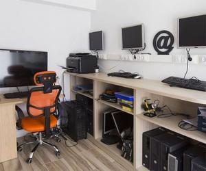 Interior de nuestra tienda de reparación de ordenadores en Gallur