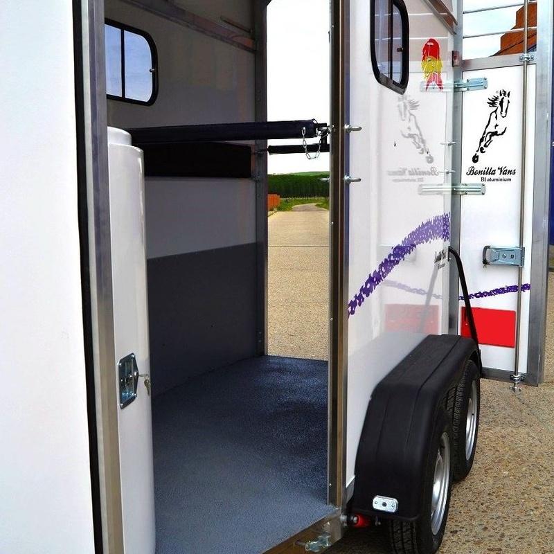 Remolque Van  de caballos Bonilla Vans B1-Aluminium