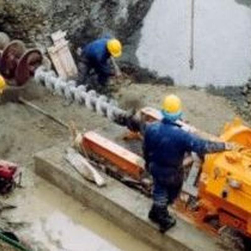 Perforación helicoidal: Servicios de Perforaciones Jocal
