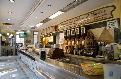 Cafetería en Granada