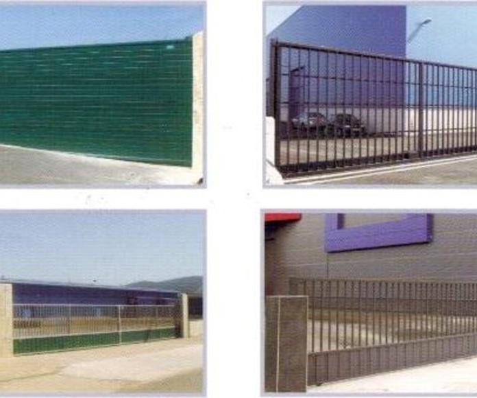 Puertas correderas puente para cierres industriales: Servicios de Puertas Nueva Castilla Gipuzkoa