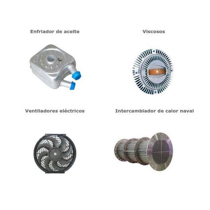 Productos de refrigeración: Productos y servicios de Radiadores Eloy