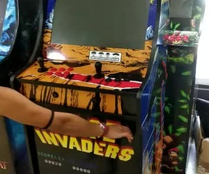 Space Invaders Con Nevera