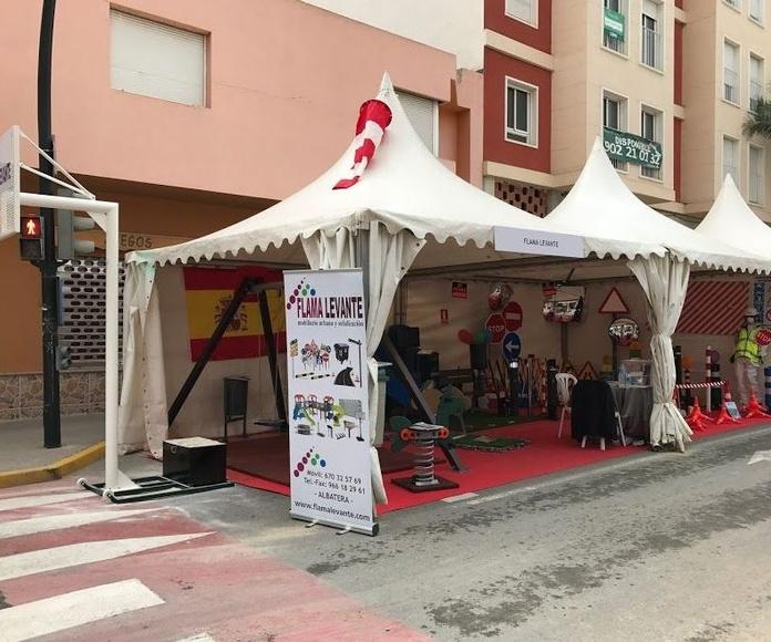 Feria del comercio. Flama-Levante
