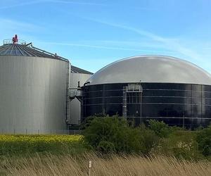 Instalación de equipos de biogas