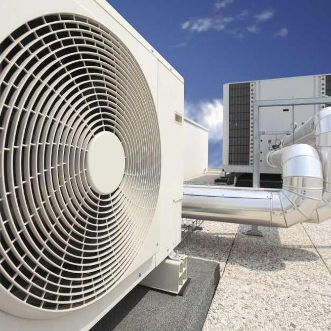 El aire acondicionado industrial