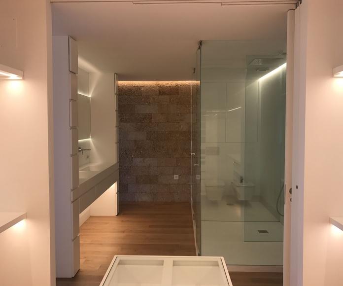 vestidor - baño