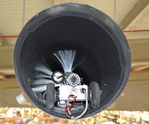 Robot en interior de conducto de aire
