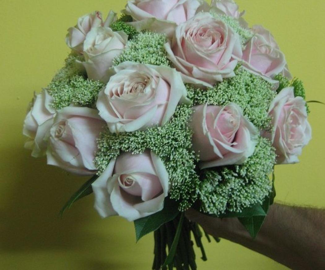El significado de las flores para el ramo de novia