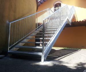 Escalera de forja