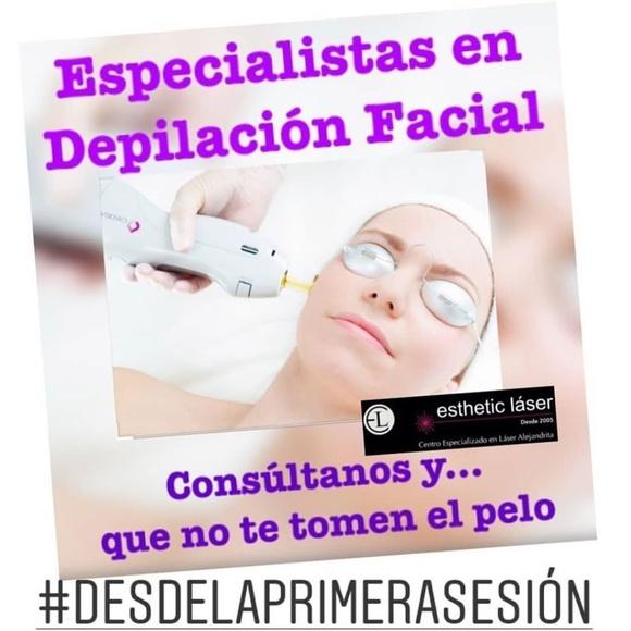 Beneficios de la depilación facial / Esthetic Láser Alejandrita