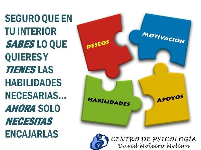 Coaching Personal: Tratamientos o terapias de Centro de Psicología David Moleiro Melián