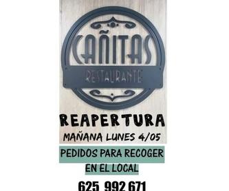 Nuestra terraza: Bar Restaurante de Casa Cañitas